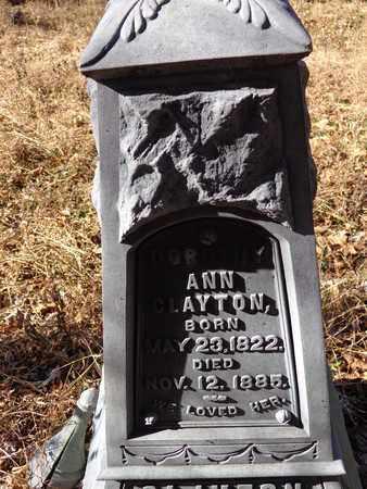 CLAYTON, ANN - Lewis County, Tennessee   ANN CLAYTON - Tennessee Gravestone Photos