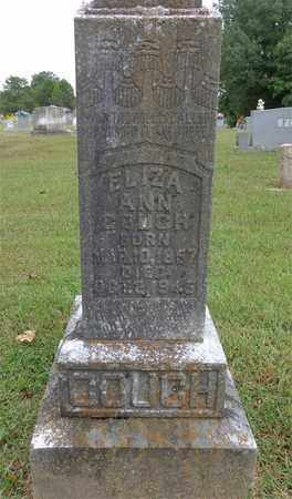 COUCH, ELIZA ANN - Lewis County, Tennessee   ELIZA ANN COUCH - Tennessee Gravestone Photos