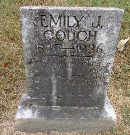 COUCH, EMILY J - Lewis County, Tennessee | EMILY J COUCH - Tennessee Gravestone Photos