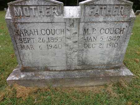 COUCH, M. P. - Lewis County, Tennessee | M. P. COUCH - Tennessee Gravestone Photos