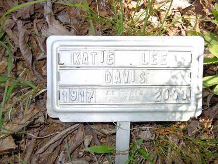 DAVIS, KATIE LEE - Lewis County, Tennessee   KATIE LEE DAVIS - Tennessee Gravestone Photos