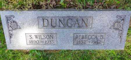 DUNCAN, S WILSON - Lewis County, Tennessee | S WILSON DUNCAN - Tennessee Gravestone Photos