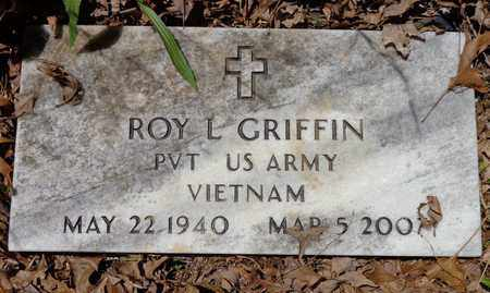GRIFFIN (VET), ROY L - Lewis County, Tennessee | ROY L GRIFFIN (VET) - Tennessee Gravestone Photos