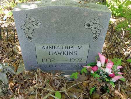 HAWKINS, ARMENTHIA M - Lewis County, Tennessee | ARMENTHIA M HAWKINS - Tennessee Gravestone Photos