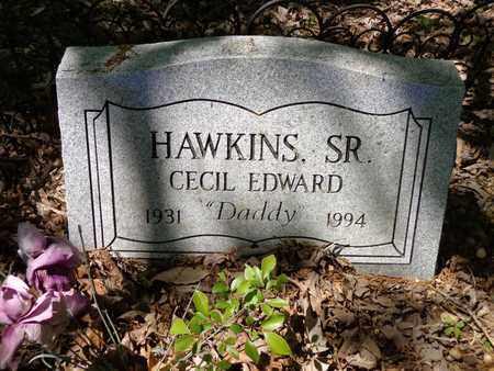 HAWKINS, CECIL EDWARD (SR) - Lewis County, Tennessee | CECIL EDWARD (SR) HAWKINS - Tennessee Gravestone Photos