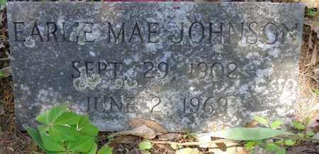 JOHNSON, EARLIE MAE - Lewis County, Tennessee | EARLIE MAE JOHNSON - Tennessee Gravestone Photos