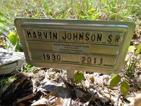 JOHNSON, MARVIN (SR) - Lewis County, Tennessee | MARVIN (SR) JOHNSON - Tennessee Gravestone Photos