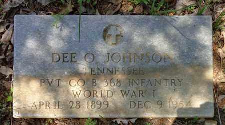 JOHNSON (VET), DEE O - Lewis County, Tennessee | DEE O JOHNSON (VET) - Tennessee Gravestone Photos