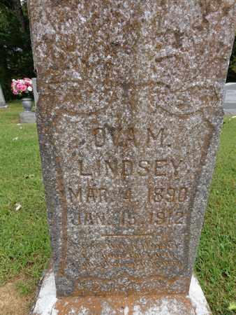 LINDSEY, OVA M - Lewis County, Tennessee | OVA M LINDSEY - Tennessee Gravestone Photos