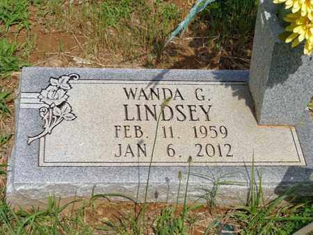 LINDSEY, WANDA G - Lewis County, Tennessee   WANDA G LINDSEY - Tennessee Gravestone Photos