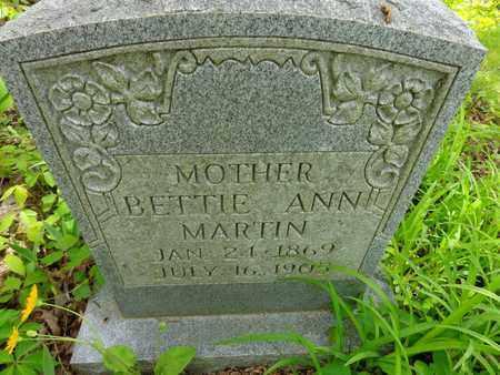 MARTIN, BETTIE ANN - Lewis County, Tennessee   BETTIE ANN MARTIN - Tennessee Gravestone Photos