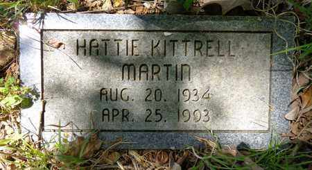 KITTRELL MARTIN, HATTIE - Lewis County, Tennessee | HATTIE KITTRELL MARTIN - Tennessee Gravestone Photos