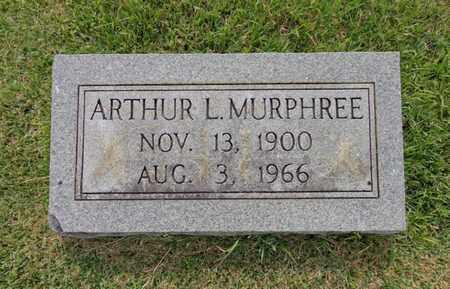 MURPHREE, ARTHUR L - Lewis County, Tennessee | ARTHUR L MURPHREE - Tennessee Gravestone Photos