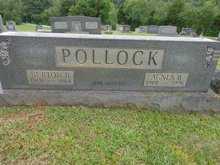 POLLOCK, AGNES B - Lewis County, Tennessee | AGNES B POLLOCK - Tennessee Gravestone Photos