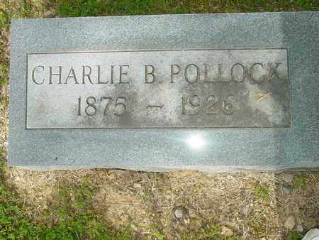 POLLOCK, CHARLIE B. - Lewis County, Tennessee | CHARLIE B. POLLOCK - Tennessee Gravestone Photos