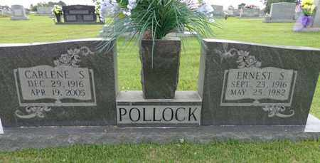 POLLOCK, ERNEST S - Lewis County, Tennessee | ERNEST S POLLOCK - Tennessee Gravestone Photos