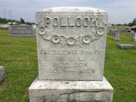 POLLOCK, FRED LEWIS - Lewis County, Tennessee   FRED LEWIS POLLOCK - Tennessee Gravestone Photos