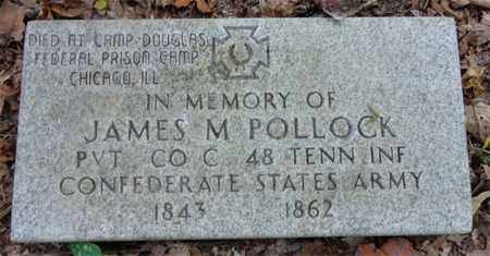 POLLOCK, JAMES MARION - Lewis County, Tennessee | JAMES MARION POLLOCK - Tennessee Gravestone Photos