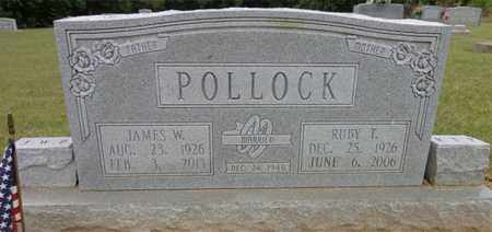 POLLOCK, JAMES W. - Lewis County, Tennessee | JAMES W. POLLOCK - Tennessee Gravestone Photos
