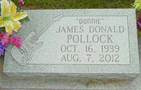 POLLOCK, JAMES DONALD - Lewis County, Tennessee | JAMES DONALD POLLOCK - Tennessee Gravestone Photos