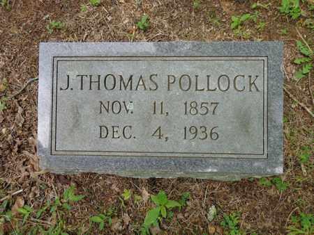 POLLOCK, J THOMAS - Lewis County, Tennessee | J THOMAS POLLOCK - Tennessee Gravestone Photos