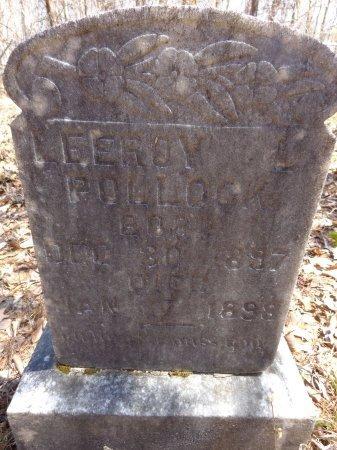 POLLOCK, LEEROY L - Lewis County, Tennessee | LEEROY L POLLOCK - Tennessee Gravestone Photos