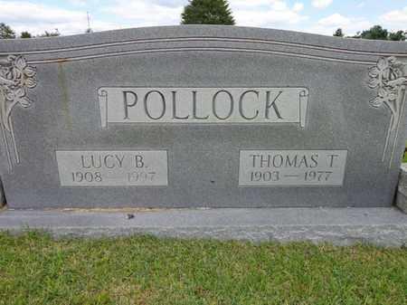 POLLOCK, THOMAS T - Lewis County, Tennessee | THOMAS T POLLOCK - Tennessee Gravestone Photos