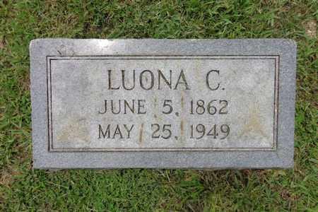 POLLOCK, LUONA C - Lewis County, Tennessee | LUONA C POLLOCK - Tennessee Gravestone Photos