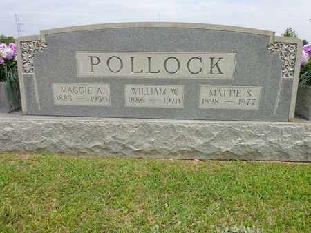 POLLOCK, MAGGIE A - Lewis County, Tennessee | MAGGIE A POLLOCK - Tennessee Gravestone Photos
