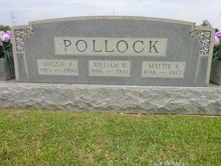 POLLOCK, MATTIE S - Lewis County, Tennessee | MATTIE S POLLOCK - Tennessee Gravestone Photos