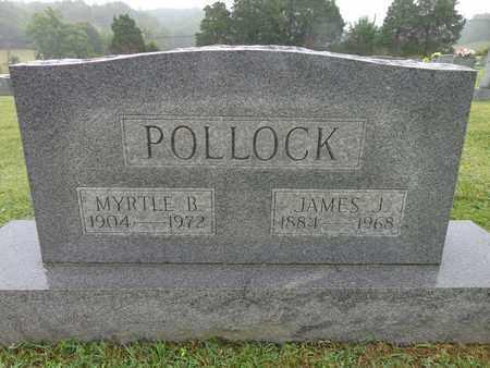 POLLOCK, JAMES J - Lewis County, Tennessee | JAMES J POLLOCK - Tennessee Gravestone Photos