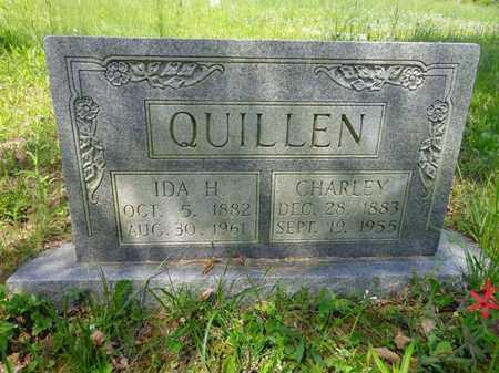 QUILLEN, CHARLEY - Lewis County, Tennessee | CHARLEY QUILLEN - Tennessee Gravestone Photos