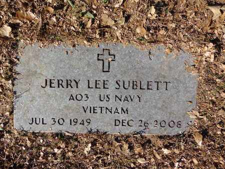 SUBLETT, JERRY LEE - Lewis County, Tennessee | JERRY LEE SUBLETT - Tennessee Gravestone Photos