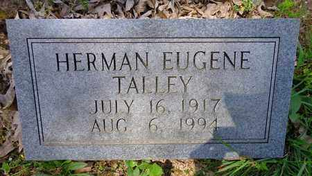 TALLEY, HERMAN EUGENE - Lewis County, Tennessee   HERMAN EUGENE TALLEY - Tennessee Gravestone Photos