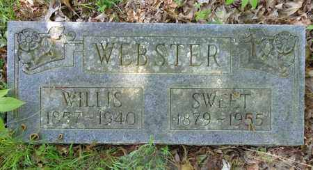WEBSTER, SWEET - Lewis County, Tennessee | SWEET WEBSTER - Tennessee Gravestone Photos