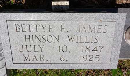 WILLIS, BETTYE E - Lewis County, Tennessee | BETTYE E WILLIS - Tennessee Gravestone Photos