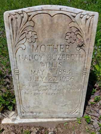 WILLIS, NANCY ELIZEBETH - Lewis County, Tennessee | NANCY ELIZEBETH WILLIS - Tennessee Gravestone Photos