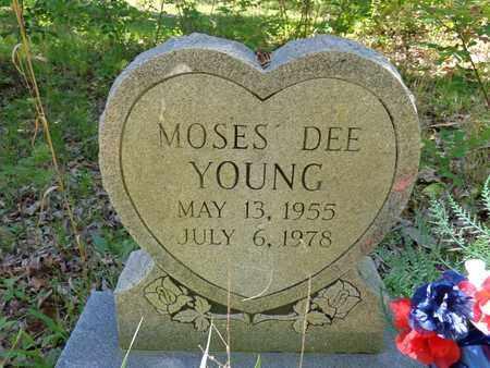 YOUNG, MOSES DEE - Lewis County, Tennessee   MOSES DEE YOUNG - Tennessee Gravestone Photos