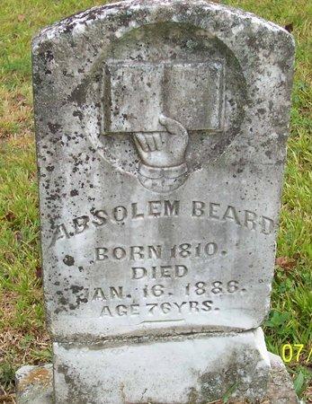 BEARD, ABSOLEM - Lincoln County, Tennessee | ABSOLEM BEARD - Tennessee Gravestone Photos