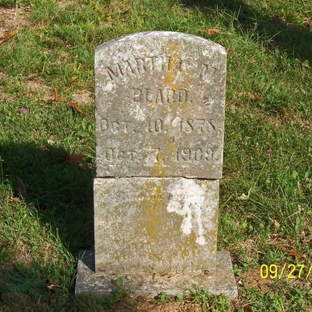 KEY BEARD, MARTHA M. - Lincoln County, Tennessee | MARTHA M. KEY BEARD - Tennessee Gravestone Photos