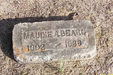 BEARD, MAUDIE A. - Lincoln County, Tennessee   MAUDIE A. BEARD - Tennessee Gravestone Photos