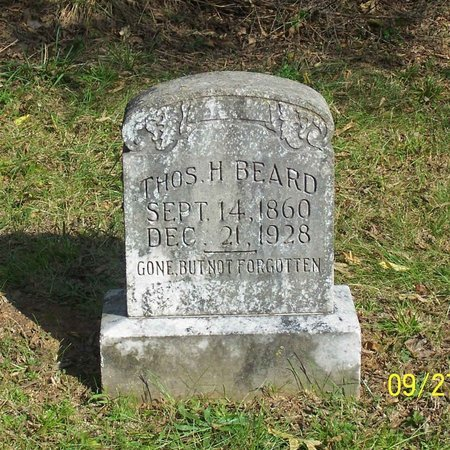 BEARD, THOMAS H. - Lincoln County, Tennessee | THOMAS H. BEARD - Tennessee Gravestone Photos
