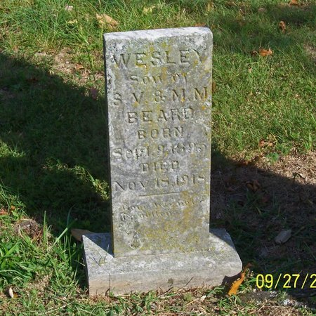 BEARD, WESLEY - Lincoln County, Tennessee | WESLEY BEARD - Tennessee Gravestone Photos