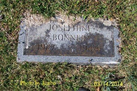BONNER, JOSEPHINE - Lincoln County, Tennessee | JOSEPHINE BONNER - Tennessee Gravestone Photos