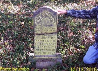 BRADY (VETERAN CSA), ALEX - Lincoln County, Tennessee   ALEX BRADY (VETERAN CSA) - Tennessee Gravestone Photos