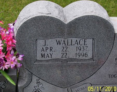 CASTEEL, J. WALLACE (CLOSE UP) - Lincoln County, Tennessee | J. WALLACE (CLOSE UP) CASTEEL - Tennessee Gravestone Photos