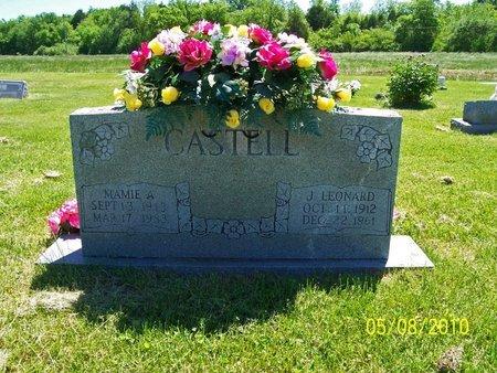CASTEEL, JAMES LEONARD - Lincoln County, Tennessee | JAMES LEONARD CASTEEL - Tennessee Gravestone Photos