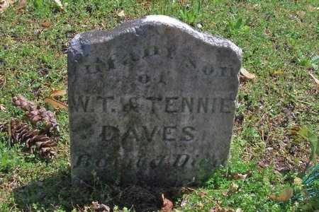 DAVES, INFANT - Lincoln County, Tennessee | INFANT DAVES - Tennessee Gravestone Photos