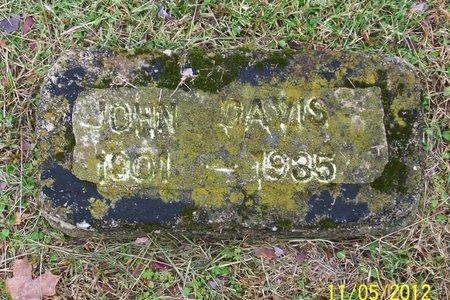 DAVIS, JOHN - Lincoln County, Tennessee | JOHN DAVIS - Tennessee Gravestone Photos