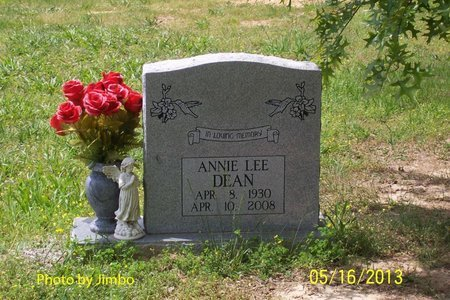 DEAN, ANNIE LEE - Lincoln County, Tennessee | ANNIE LEE DEAN - Tennessee Gravestone Photos